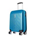 CCS-5136 ABS Valiz 55 cm Mavi