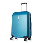 CCS-5136 ABS Valiz 65 cm Mavi