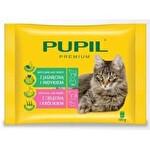 Pupil 4x100 g Kedi Maması