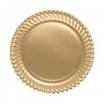 Roll Up Party Dream Plastik Tabak 26 cm 8'li Gold