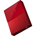 WD My Passport Kırmızı 1 TB HDD