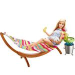 Barbie Açıkhava Dekorasyon Oyun Seti
