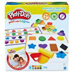 Playdoh Renkleri Ve Şekilleri Öğreniyorum