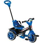 Ebeveyn Kontrollü Bobo Üç Teker Mavi Çocuk Bisikleti