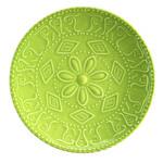 Kütahya Porselen NC Sunflower Düz Yeşil Tabak 20 cm