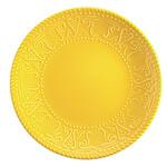 Kütahya Porselen NC Sunflower Düz Sarı Tabak 26 cm
