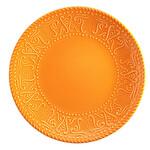 Kütahya Porselen NC Sunflower Düz Turuncu Tabak 26 cm
