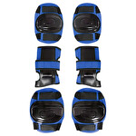 Busso BS600 3'lü Koruyucu Set Mavi (L)