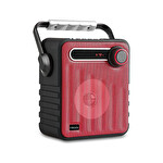 Mikado MD-1437 3W Bluetooth Kırmızı Speaker