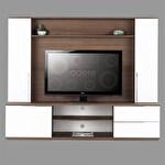 Flat Line Blok Geniş Tv Ünitesi Noce-Lak