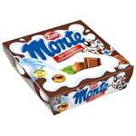 Zott Monte Çikolatalı Fındıklı Puding 4x55 g