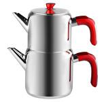 Emsan Kırmızı Çaydanlık Takımı