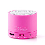 Polosmart Sound Magic Bluetooth Speaker Pembe