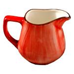 Güral Porselen Kırmızı Sütlük
