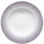 Güral Porselen Rubi Püskürtme Mor Servis Tabak 20 cm