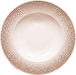 Güral Porselen Rubi Püskürtme Vizon Servis Tabak 25 cm