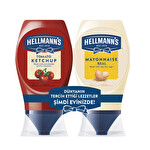 Hellmann's Ketçap & Mayonez Mini Set 525Gr