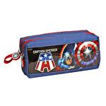 Captain America Rebirth Due Kalem Çantası