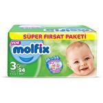 Molfix 3D Süper Fırsat Paketi Midi 94'lü