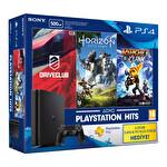 Sony PS4 500 GB Slim (3 Oyun ve 3 Aylık PSN Plus Hediyeli)