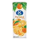 Sek Portakal Meyve Suyu Nektarı 200 ml