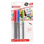 Edding Fine Pen 4'lü Blister Karışık Set