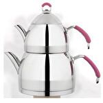 Çaydanlık Takımı - 4 Parça - Pembe