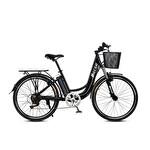 Mecer Elektrikli City Bisiklet 26'' Siyah