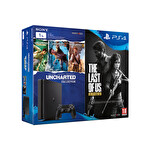 Sony PS4 1TB Slim (Uncharted 1-2-3 ve The Last Us Hediyeli)