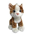Vardem Peluş 25 cm 4 Asortı Oturan Kedi