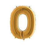 Folyo Balon Altı Rakam 0 96Cm