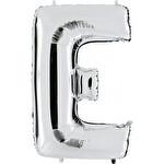 Folyo Balon Gümüş Harf E 96 cm