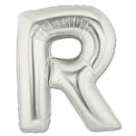 Folyo Balon Gümüş Harf R 96 cm