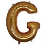Folyo Balon Altın Harf G 96 cm