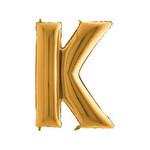 Folyo Balon Altın Harf K 96 cm