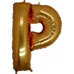 Folyo Balon Altın Harf P 96 cm