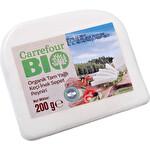 Carrefour Bio Organik Tam Yağl Keçi İnek Sepet Peyniri 200g