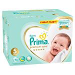 Prima Bebek Bezi Premium Care 5 Beden Junior Fırsat Paketi 74 Adet