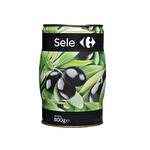 Carrefour Siyah Sele Zeytin 800 gr
