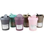 Plastik Kapaklı Çöp Kovası 2 Litre