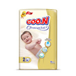 Goo.n Premium Soft Bebek Bezi 2 Numara 58'li