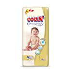 Goo.n Premium Bant Jumbo Bebek Bezi 4 Numara 34 Adet