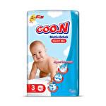Goo.n Mutlu Bebek Külot Bez 3 Numara 50'li