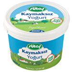 Sütaş Kaymaksız Yoğurt 2000 g