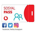 Vodafone Sanal Haftalık Sosyal Pass Paketi