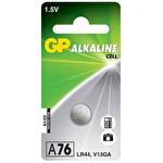 GP A76 1.5V Alkalin Düğme Pil