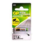 GP 27A 12V Yüksek Voltaj Spesifik Tekli Pil