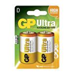 GP D Ultra Alkalin Pil 2Li LR20