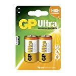 GP C Ultra Alkalin Orta Pil 2'li LR14