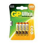 GP AAA LR03 Ultra Alkalin İnce Pil 4'lü